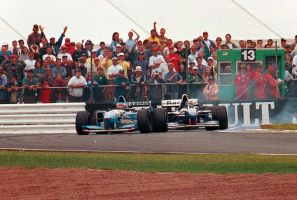 M. Schumacher | D. Hill (Great Britain 1995) by F1-history