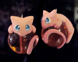 Mew Marble Charms: Eyes Open