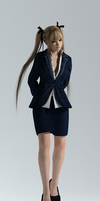 DOA5U Marie Rose Business (Customize)Fixed 1-21-15 by bstylez