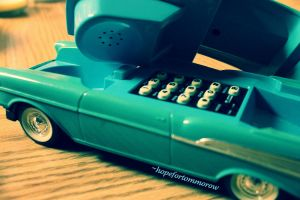 Just call me from your car phone by hopefortommorow