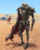 Desert Droid by Phill-Art