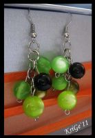 grapes earrings by SoshinaAi