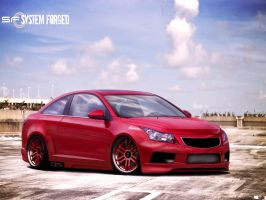 Chevrolet Cruze by roleedesign