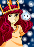 Child of Light - Aurora and Igniculus Colo by Animizuu