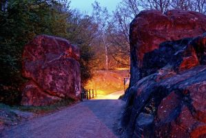 Rusthall Park Gate by CitizenJustin