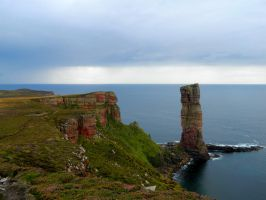 Old man of Hoy by Aydra