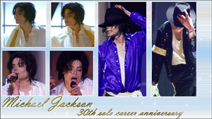 Michael Jackson 30th anniversary wallpaper by NatouMJSonic