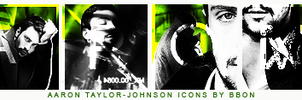 Aaron Taylor Johnson icons by bbonelf