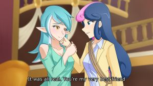Best ''Friends'' (Pic of the week S5E09) by JonFawkes