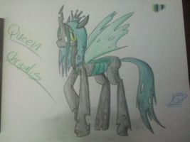 Queen Chrysalis by CandyKidneys