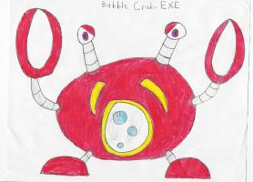 Bubble Crab.EXE. by Rock-Raider