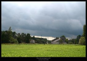 When the rain begins to fall by Gustavs