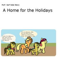 A Home for the Holidays by dragospirit