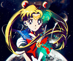 Sailor Moon by TifaxLockhart