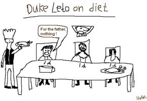 Duke Leto on diet by SarahSolus