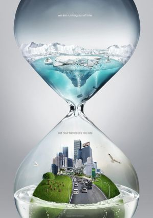 12 Global Warming Awareness Posters Global_warming_PSA___time_by_pepey