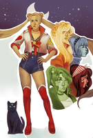 Sailor Moon by ophilino
