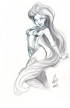 Daily Sketches:  Starfire5 by mainasha