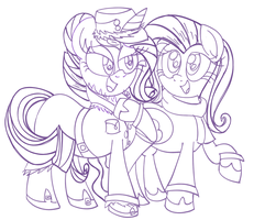 Mares On The Town by Daniel-SG