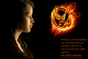 Katniss Everdeen by maximumride1995