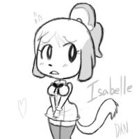Animal Crossing - Isabelle by DanThelVlan