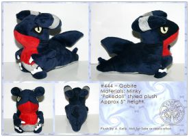 Plush-Gabite by RadiantGlyph