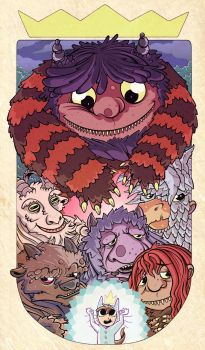 Where the Wild Things Are by BryanTheEvery