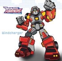Transformers Windcharger by ninjha