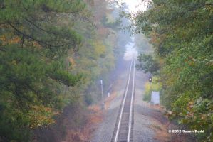 The Tracks off Grand National Hwy by Rjet33