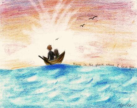 Out on the sea, my love (READ THE DESCRIPTION!) by xxIgnisxx
