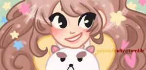 Bee and Puppycat by GrimmFirefly