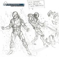 Project Scribbles by cossyconceptart