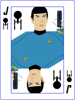Spock Card by jonizaak