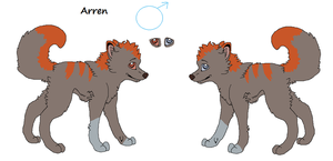 Arren Reference Sheet ::GA:: by Hyperactive-Blue