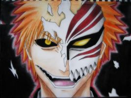 Hollow Ichigo by 9Bleach6