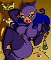 ASSESINA's FELINE QUEEN by DeadDog2007