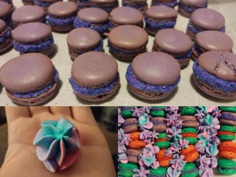 Macarons and Meringues by Annamarie2014