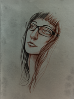 Face Sketch by Irkis
