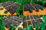 Dwarves of Middle Earth (6mm, granny-grating) by Spielorjh