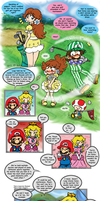Mario: Alone at Home Pg 17 (...END) by saiiko