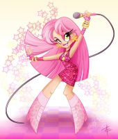 Jem from Jem and the Holograms by AprilEriksson