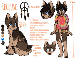 Recluse Ref by She-Foxy