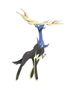 Xerneas by Korupo
