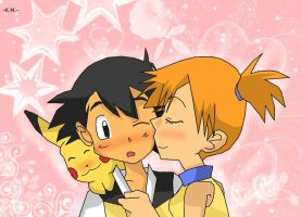 Poke-Close Kiss by Misty-DawnKetchum011