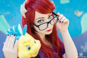 Ariel Hipster by LucyIeech