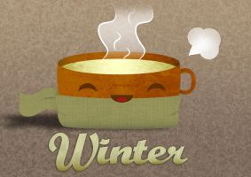 Cup of winter by cah-meyer