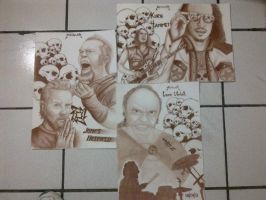 METALLICA by H3cT0r-Dibujos
