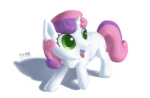 Cmc(part1 Sweetie belle) by DraconidsMXZ