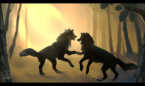 once blood is drawn | WoLF by Copperhaven