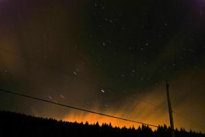 Northern Lights 6 - Salmon Arm by EvanHodsonGallery